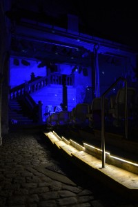Illumination zur Premierenfeier